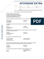Atividade Extra - Carboidratos e Lipidios