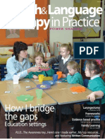 Speech & Language Therapy in Practice, Spring 2005