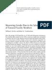 Becker and Toutkoushian - Measuring Gender Bias in the Salaries (1)