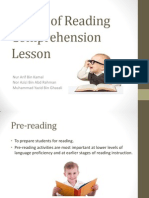 Stages of Reading Comprehension Lesson