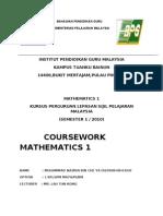 math 1 mr lau