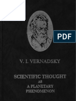 Scientific Thought as a Planetary Phenomenon (V. I. Vernadsky)