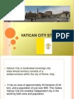 Vatikan Sunum