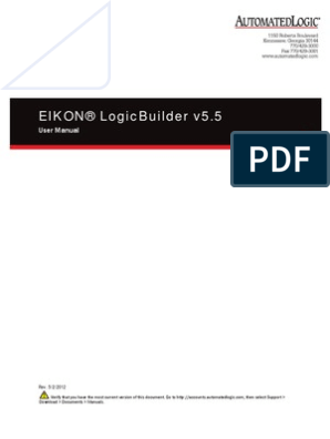 EIKOn LogicBuilder Manual | Data Type | Automation