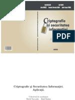 Criptografie Si Securitatea Informatiei. Aplicatii. 20.10.2012