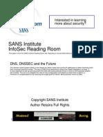 DNS Dnssec Future 1054