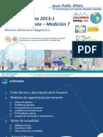 Encuesta Ultimos Datos Colombia Opina (M7)