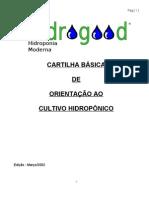 Cartilha hidroponia