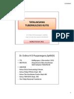 5.Tatalaksana TB Kutis