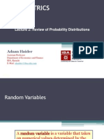 Lecture 2_Review of Probability Distributions
