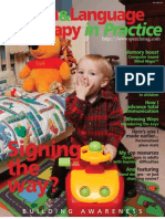 Speech & Language Therapy in Practice, Winter 2004