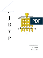 SJRYP Delegate Handbook - 73rd Session
