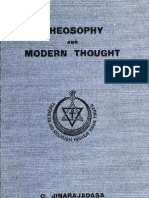 Jinarajadasa, C - Theosophy and Modern Thought