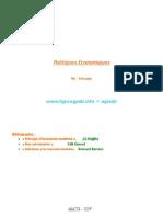 Politiques Economiques-Séances 1-2