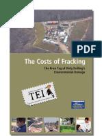 T. Dutzik, E. Ridlington, J. Rumpler - Adevăratul preț al gazelor de șist - TEI