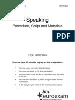 Szóbeli (Speaking) - Speaking materials