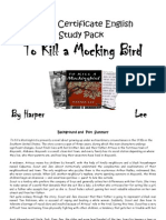 to kill a mocking bird study pack
