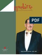 Revista Aquelarre Dedicada a Rafael Gutierrez Girardot