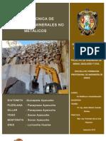 Recursos No Metalicos en La Region de Ayacuho