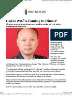 Chinese General Who Threatened Nuclear Strike on U.S. Visits Wa