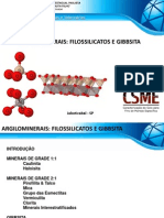 8 Argilominerais Filossilicatos e Gibbsita