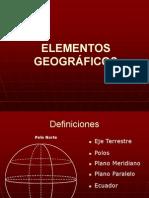 Elemento geograficos