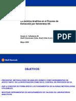 La química Analítica en SX 1