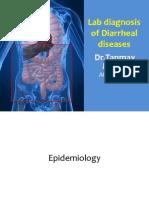 Lab Diagnosis of Diarrheal Diseases