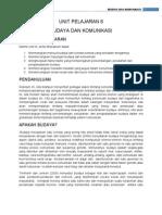 TAJUK 6 - Budaya Dan Komunikasi