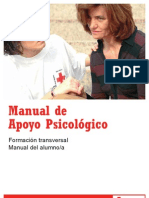 Manual de Apoyo Psicologico de La Cruz Roja Espanola PDF