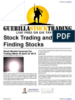 Stock Trading and Finding Stocks