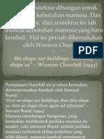 Kuliah III Arsitektur Dan Perilaku