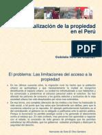 Formalizacion Propiedad Peru