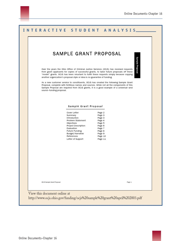 how to write a proposal for funding