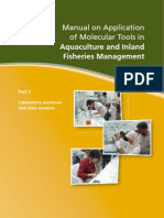 Molecular Tools in Aquaculture Part 2_Laboratory Protocols and Data Analysis