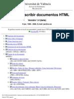 Tutorial Lenguaje HTML