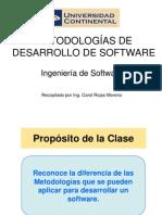 IngSw Semana6 Metodologias Desarrollo de Software