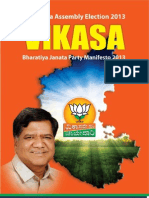 BJP Manifesto 2013 English