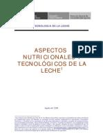 Aspectos Nutricionales Tecnologicos Leche2009