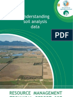 Understanding Soil Analisis Data