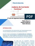 Generador de Corriente Continua Grupo 2presentacion