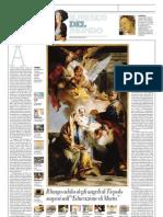IL MUSEO DEL MONDO 17 - L'educazione di Maria di Giambattista Tiepolo (1732) - La Repubblica - 21.04.2013