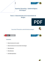 Cap I Tema 3 Determinantes Del Dengue