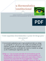 Nova Hermeneutica Constitucional (1)