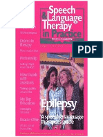 Speech & Language Therapy in Practice, Spring 1999