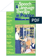 Speech & Language Therapy in Practice, Summer 1999