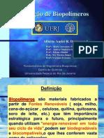 produção de biopolímeros
