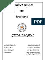 Project Report E-campus