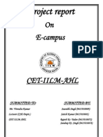Project Report E-campus
