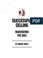 Negotiating the Sale